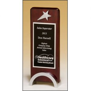Star Award 1584 with custom engraving