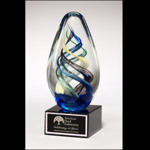 Egg-Shaped Art Glass award 1610