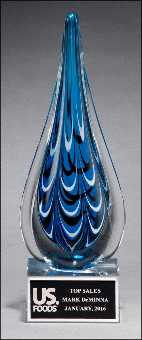 Teardrop Art Glass 2220 Executive Awards