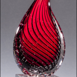Droplet-Shaped Art Glass Award G2249
