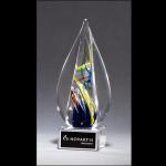 Flame-Shaped Art Glass Award G2261