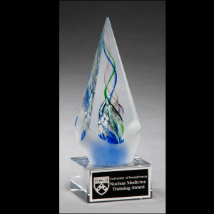 Arrow Engraved Art Glass Award 2264