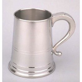 Pewter Engravable Tankard