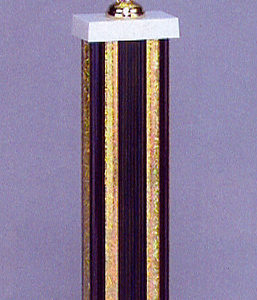 SPECTRUM 6531/6 Black Columned Trophy with Figurine
