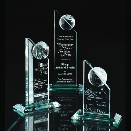 Global Excellence Glass Award 9710