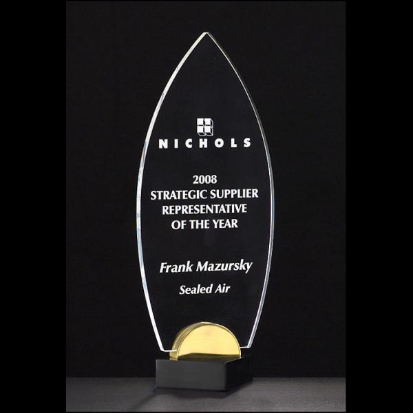 Custom Engraving Jade Diamond Award on Acrylic Base Corporate Award Achievement Award Recognition Award Retirement Gift Performance Award