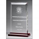 Engravable Apex Series Clear Acrylic Award A7022 1