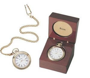 B2662 Ashton Pocket Watch and Case