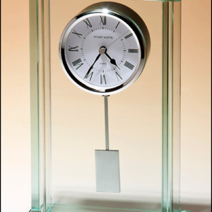 Large Glass Pendulum Clock BC1012