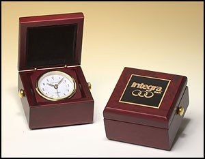 BC948 Mahogany Finished Clock Box