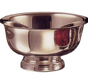 Pewter Engravable Revere 8 inch Bowl