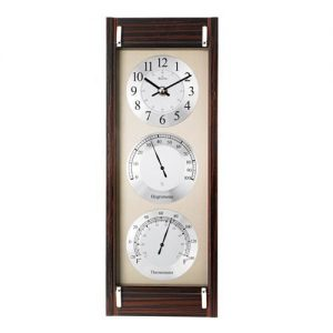 C3733 Endeavor Maritime Clock with Thermometer and Hygrometer