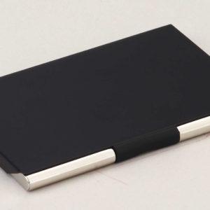 Black and Chrome Cardcase CC1