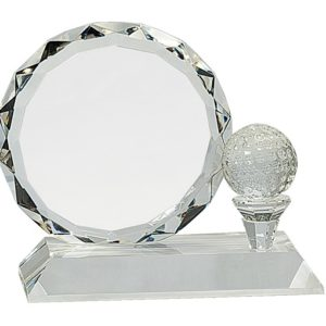 Facet Crystal w/ Clear Base CRY161