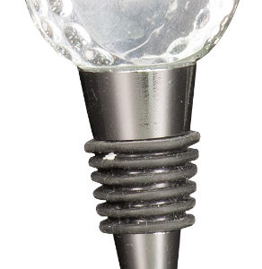 Crystal Golf Ball Wine Stopper CRY3612