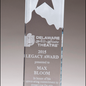 Star Topped Glass Award G2883