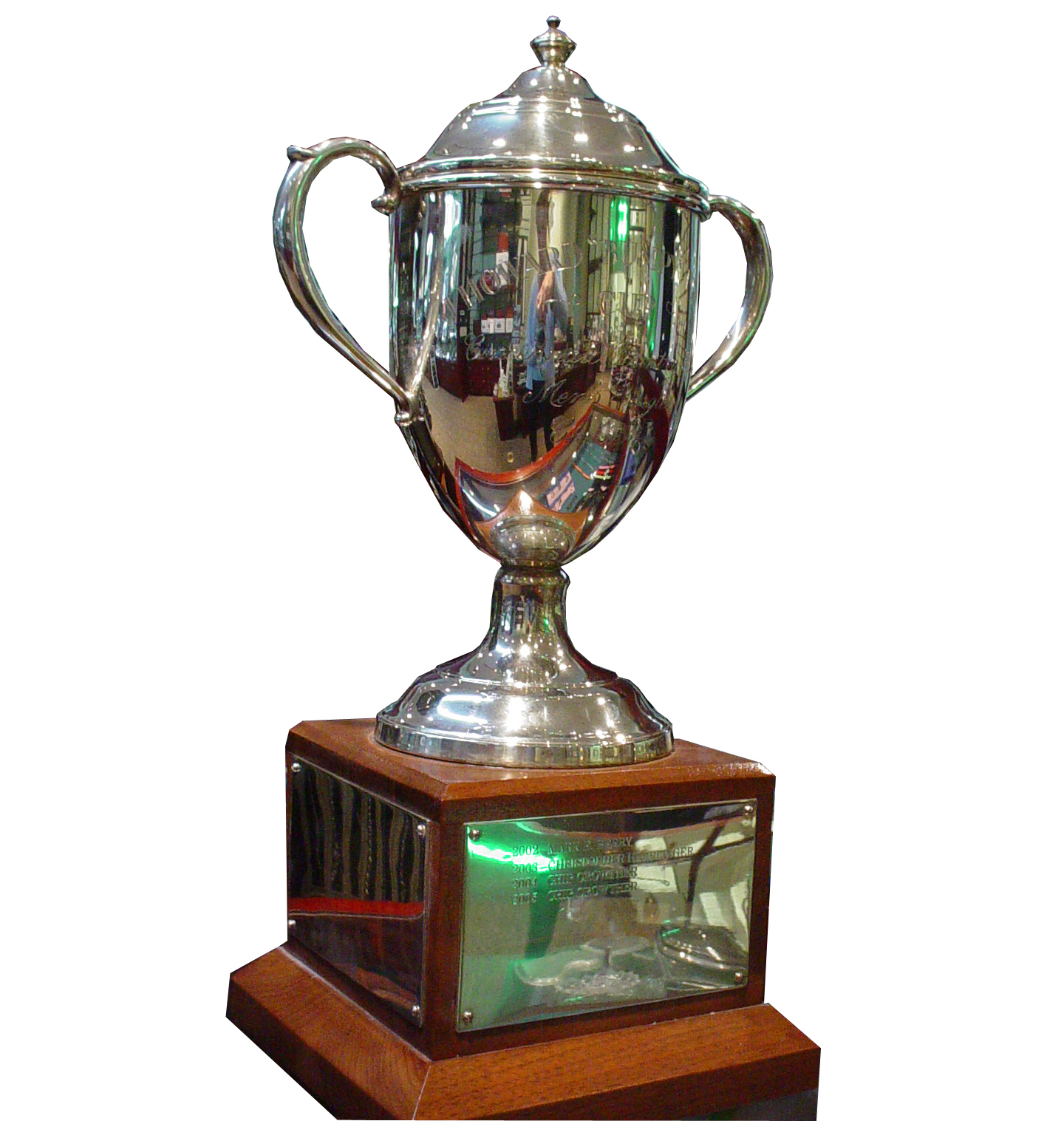 Engravable Custom Solid Sterling Silver Trophy Cup