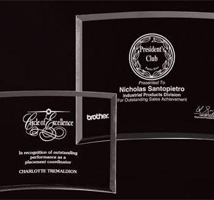Bent Glass Award #8201