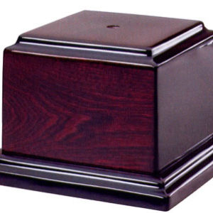 Rosewood Piano Finish Cup Bases