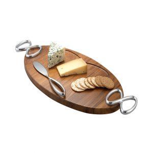 Infinity Cheese Board W/ Knife