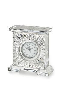 "Waterford Crystal Medallion Clock 3 1/4"""