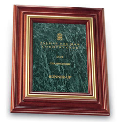 Cherry Plaques - Green Marble