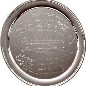 Engravable Custom Gilsons Signature Tray