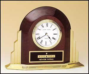 BC874 Rosewood Piano Clock