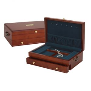 Duchess Cherry/Blue Jewelry Chest