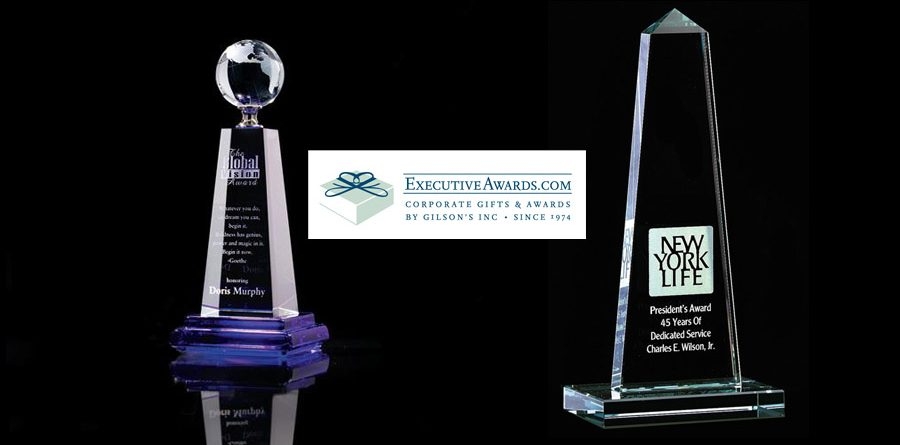 crystal awards from executiveawards.com