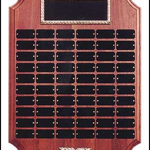 Perpetual Plaque with Curved Edges P182