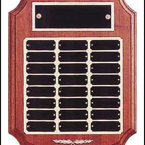 Perpetual Plaque with Curved Edges P184
