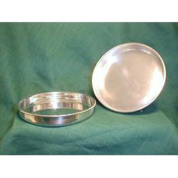 Engravable Pewter Large Plain Coaster