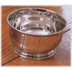 Pewter Engravable Images of America 4.5 inch Bowl