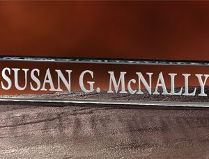 Director's Nameplate #215