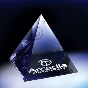 Pyramid Paperweight #290