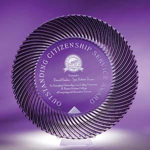 Tempo Award Plate #7400