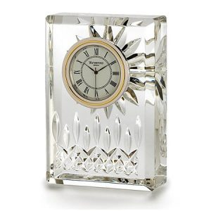 "Waterford Crystal Lismore 4.5"" Clock"