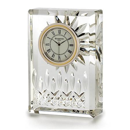 "Waterford Crystal Lismore 4.5"" Clock"