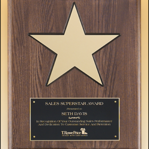 Star Walnut Board P4135