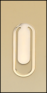 PK91 Gold Plated Bookmark