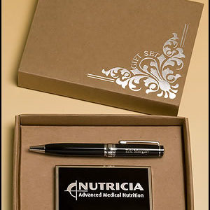 Pen/Business Card Case Set PKC6500