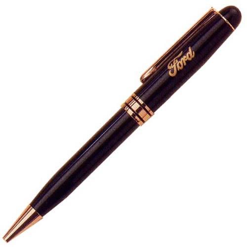 PS5660-BK Black Euro Pen