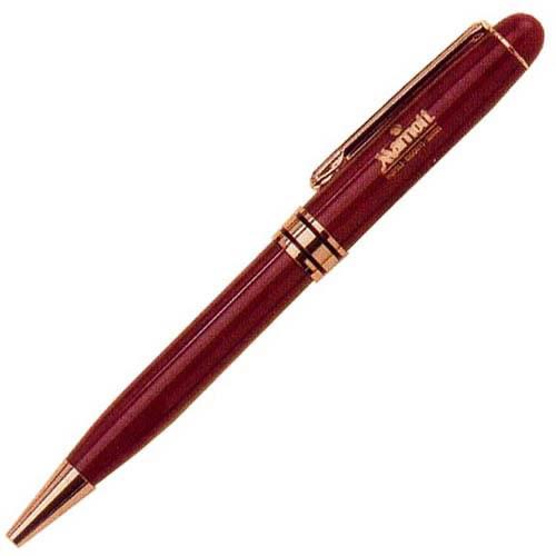 PS5662-BR Burgundy Euro Pen