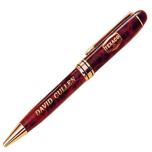 PS6720RU Ruby Red Marble Finish Pen