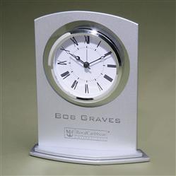 Silver Arc Clock 1374.9