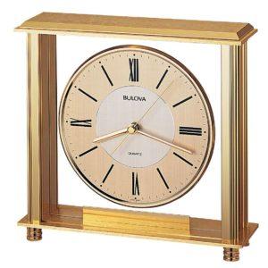 Bulova 1700 Brass Clock